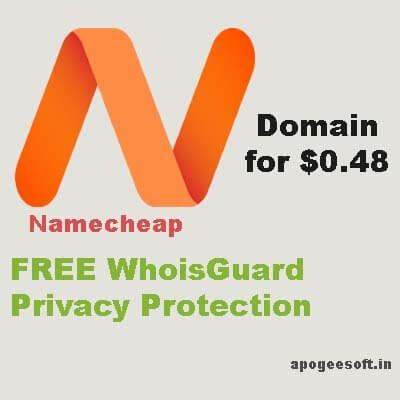 namecheap domain discount coupon